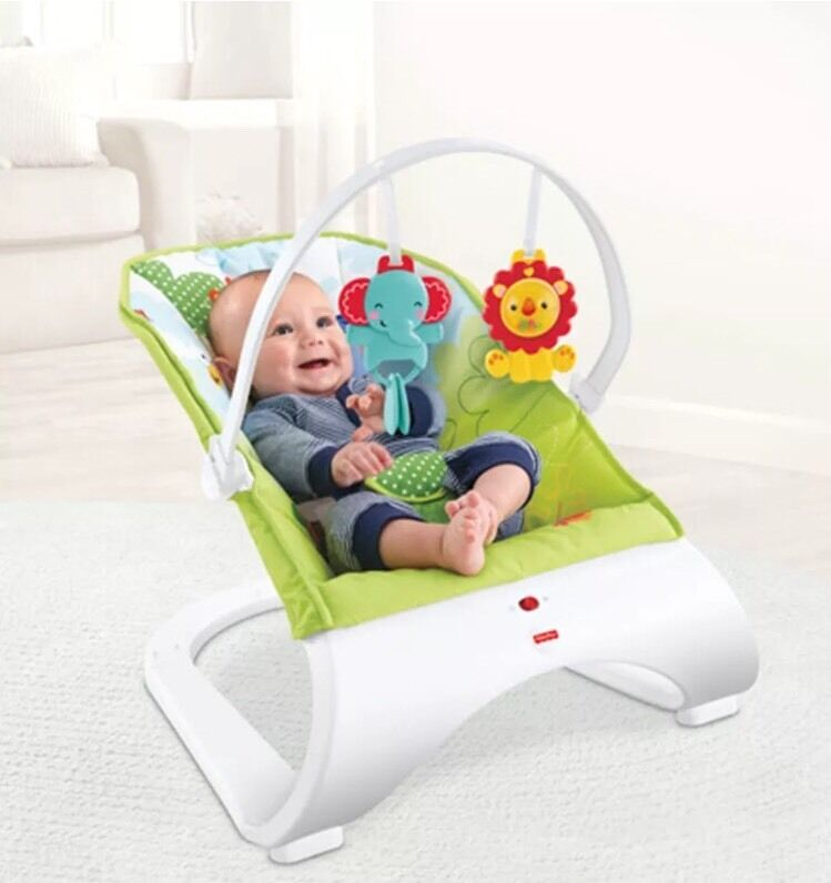 Fisher Price Rainforest Friends Comfort Curve Baby Bouncer