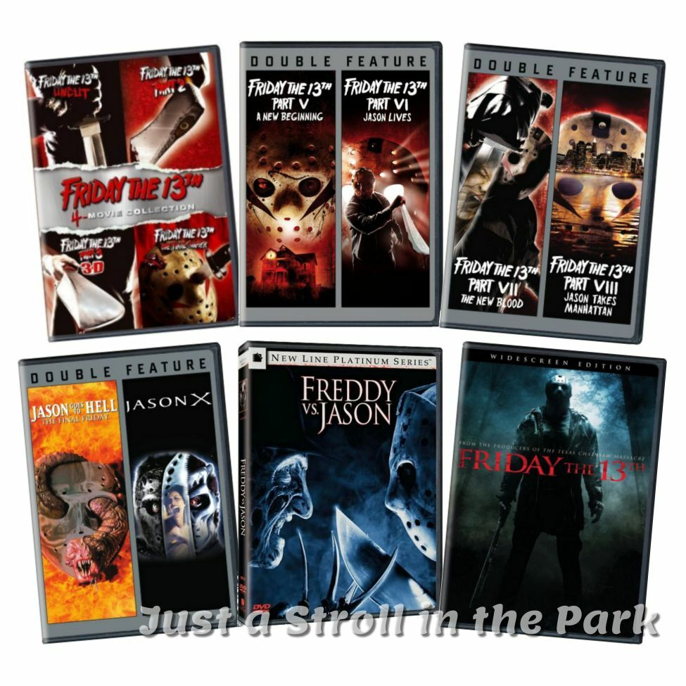 Friday the 13th jason x complete 12 movie film series box for Film maroc chambra 13 complet