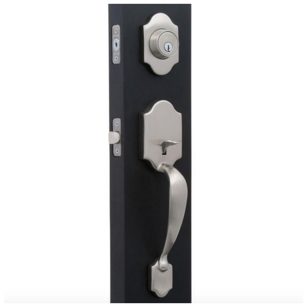 Home Entry Exterior Front Door Knob Handle Handleset Deadbolt Dead