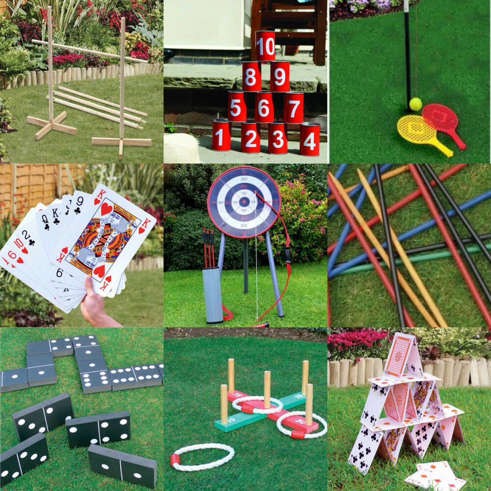 NEW KINGFISHER GARDEN OUTDOOR GAMES KIDS BOYS GIRLS ADULTS ...