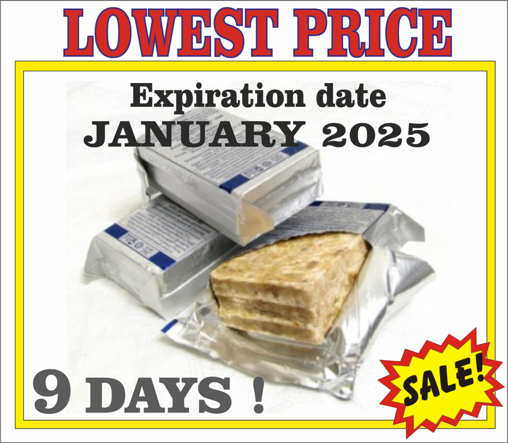 9 days 216h 7200kcal russia emergency food mre rations for Food bar emergency