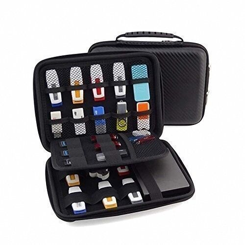 waterproof flash thumb usb drive organizer case with cable tie thumb drive bag ebay