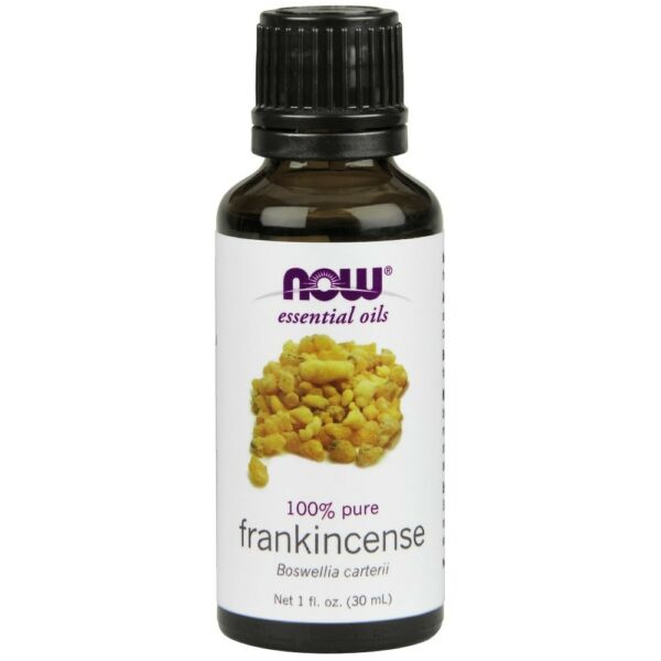 NOW Foods Frankincense Oil - Boswellia Carterii 100% Pure & Natural - 1 oz