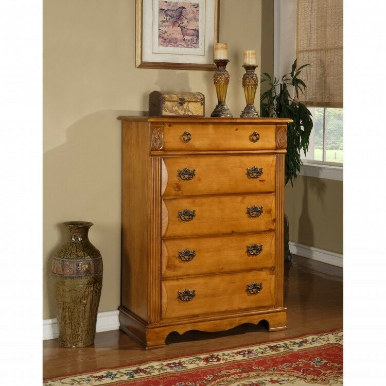 Lingerie chest of drawers solid wood dresser bureaus and