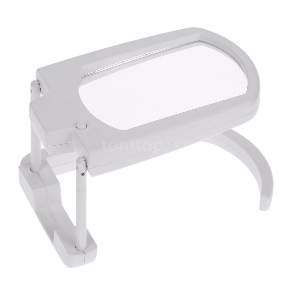 New Foldable 3x Magnifier Reading Desktop Magnifying Glass