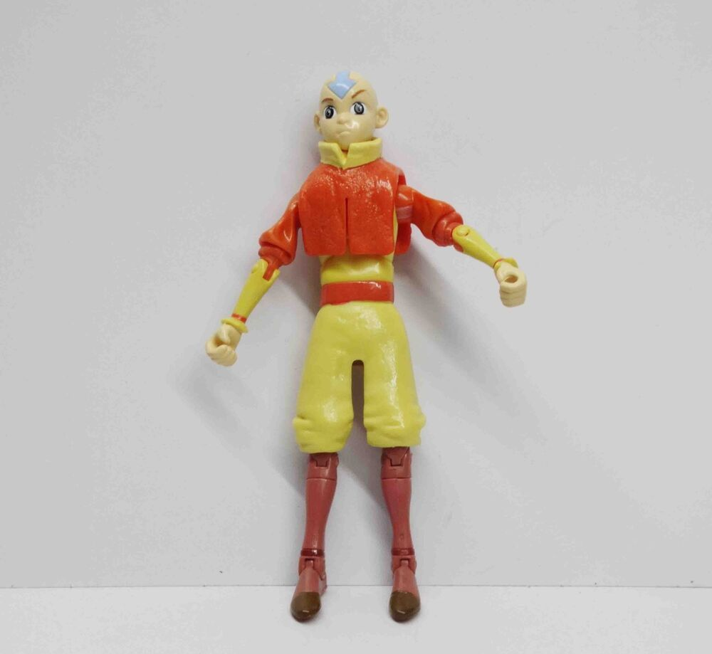 """Avatar 2 Toys: Avatar The Last Airbender Aang Action Figure 5"""""""