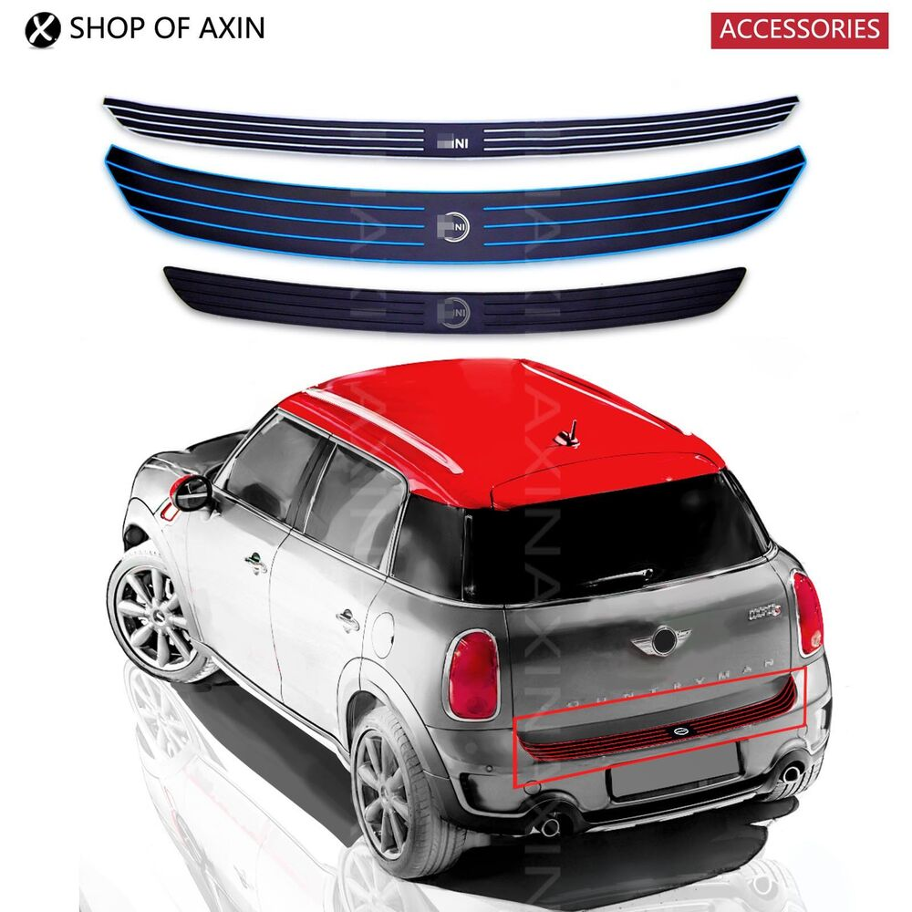 Rubber Stripe Protector Scratch Guard Trunk Door Sills For ...