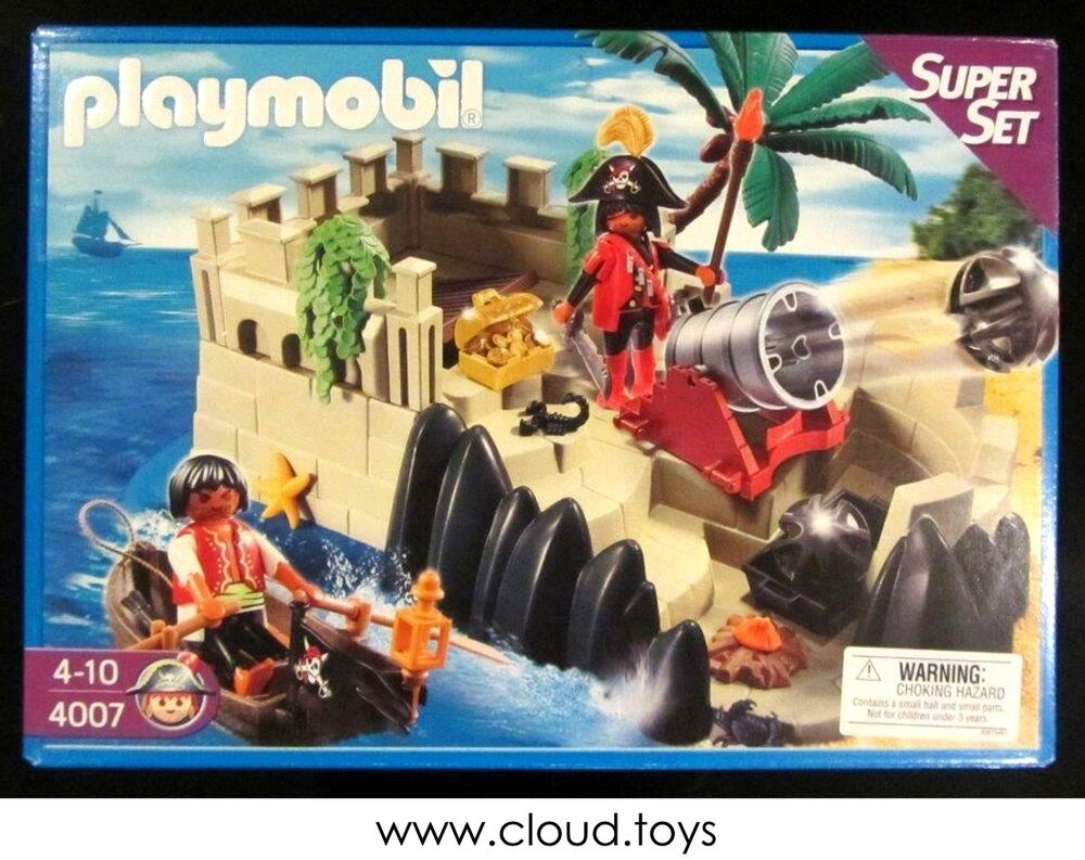 playmobil pirate island instructions