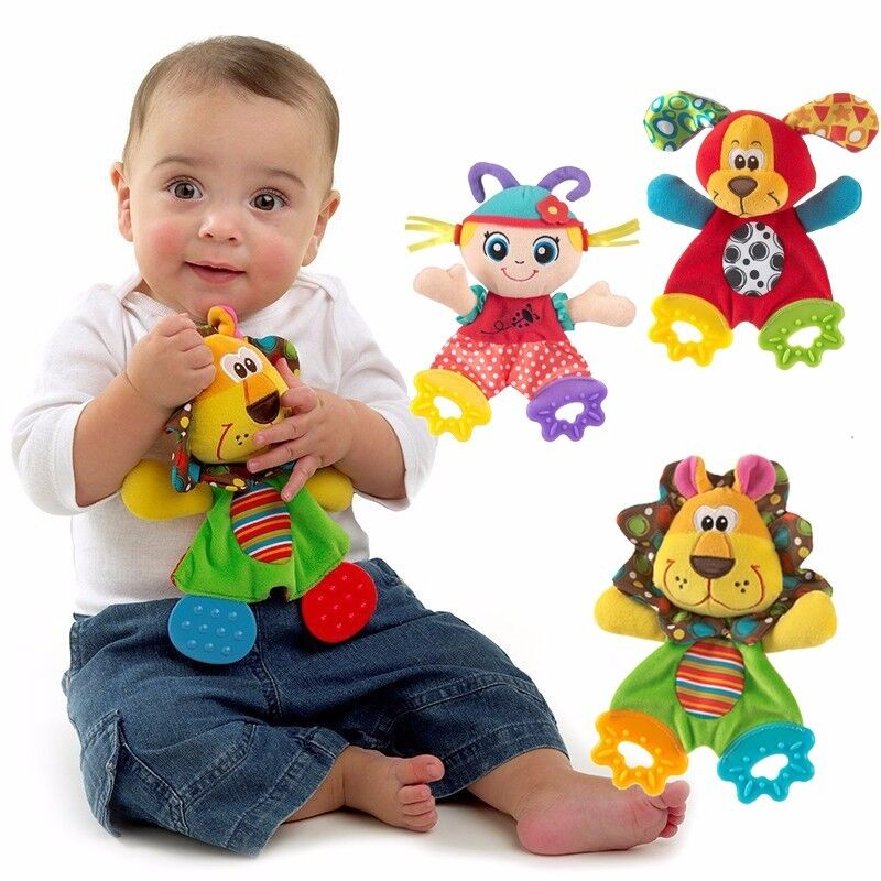 Baby Teething Toys : Mew animal baby infant soft developmental toys doll with