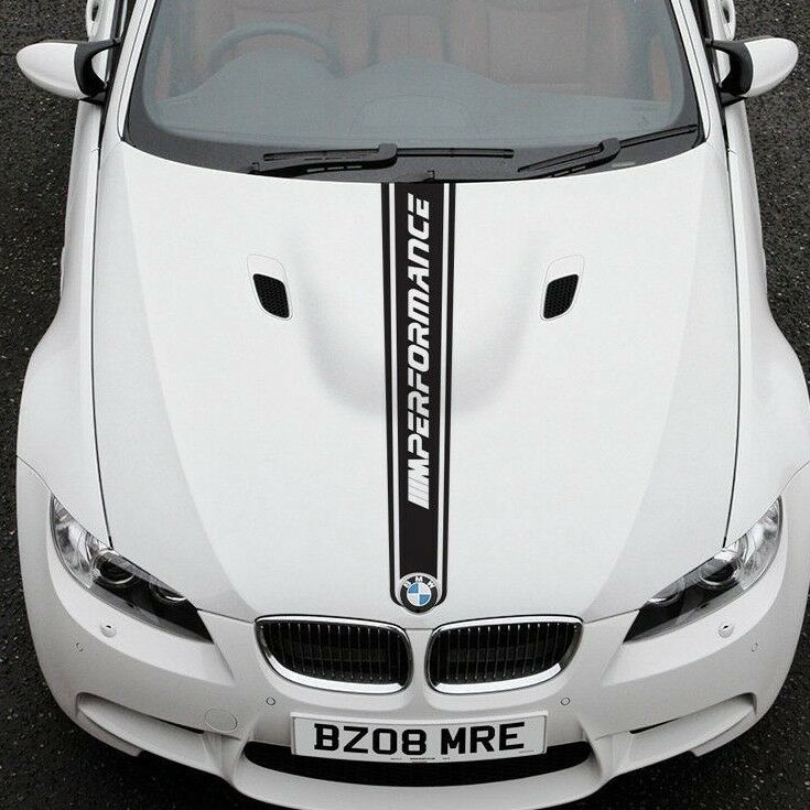Bmw X6m Horsepower: BMW 3 Series E92 Hood Graphics Stickers Decals M SPORT M