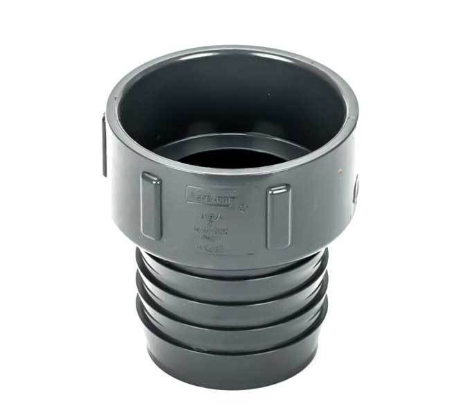 Inch pvc insert adapter pipe fitting barb ips socket