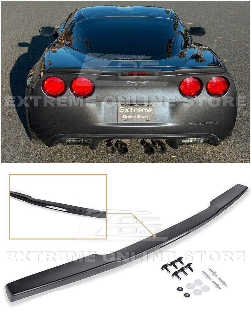 for 05 13 corvette c6 zr1 abs plastic painted rear trunk. Black Bedroom Furniture Sets. Home Design Ideas