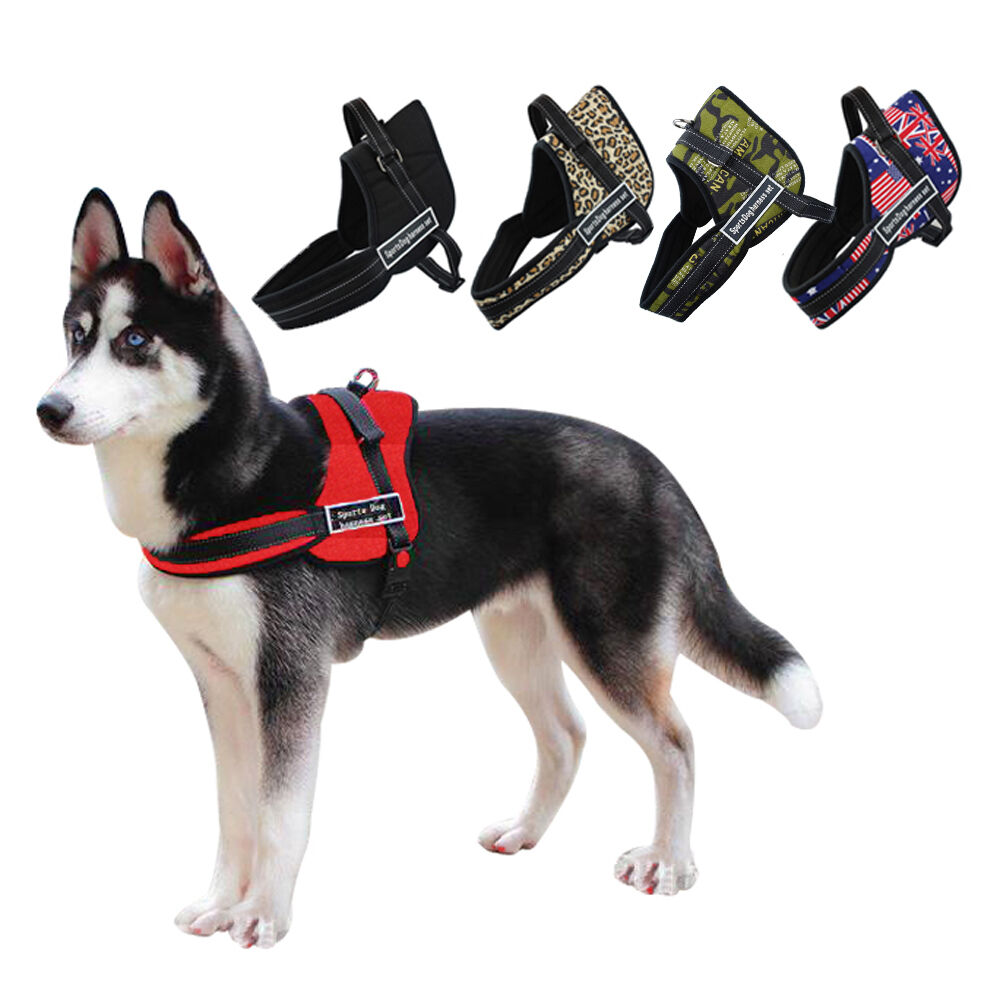 Nylon Sport Pulling Training Dog Harness Heavy Duty for ...