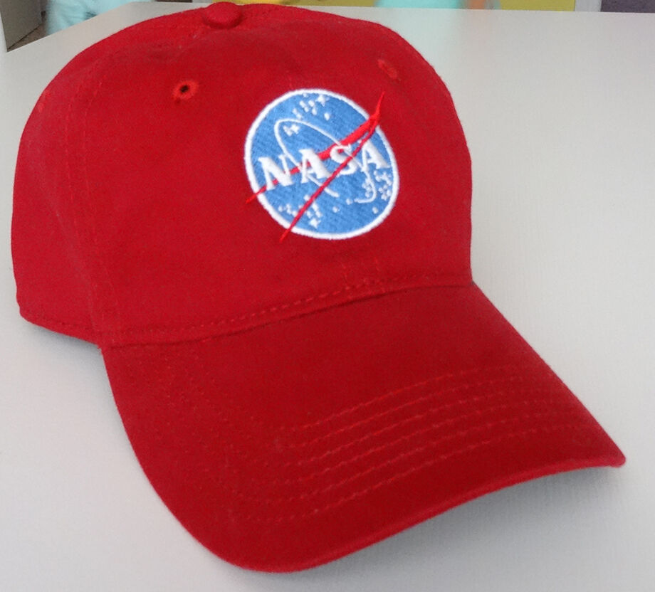 NASA Insignia embroidered Hat Tomorrowland Casey Newton ...