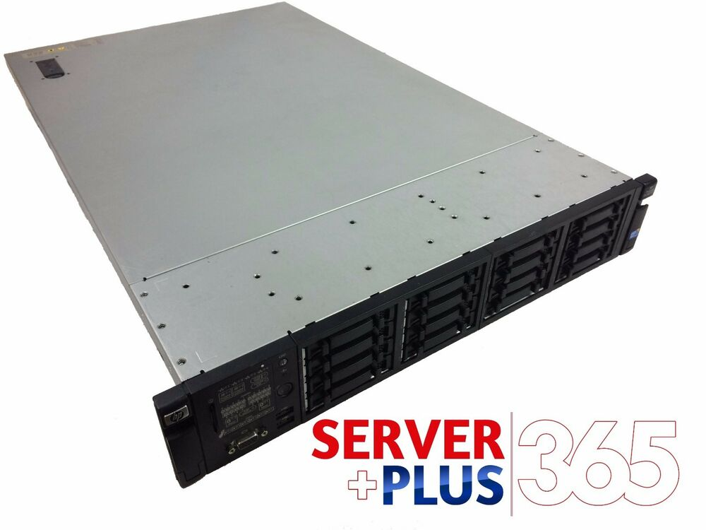 hp server proliant dl380 g7 2x hexcore 96gb 16bay 0 hard drive 2x power ebay. Black Bedroom Furniture Sets. Home Design Ideas