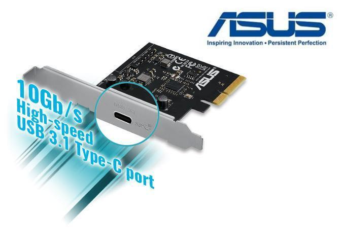 New asus usb 3 1 card pci express type c card support usb 3 0 2 0 ebay - Carte pci express 3 0 sur port 2 0 ...