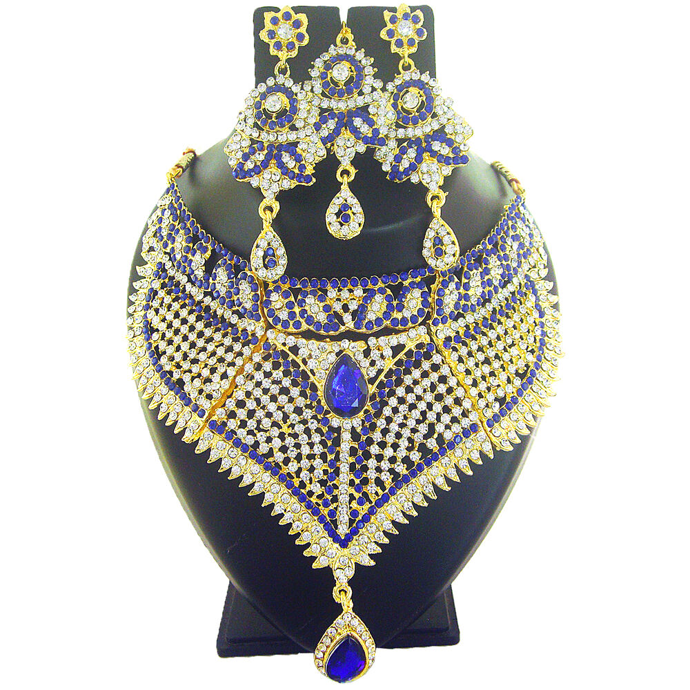 Indian Jewelry Necklace Bollywood Bridal Traditional