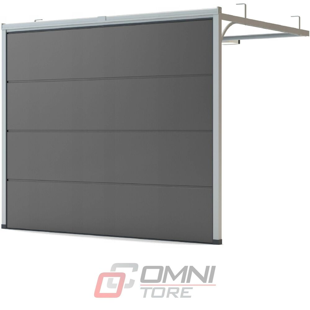 sektionaltor tor garage carport rolltor 2750 x 2500 mm farbe braun ebay. Black Bedroom Furniture Sets. Home Design Ideas