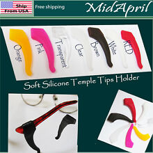 Eyeglass Ear Hook  Soft Silicone Temple Tips Holder High Quality US SELLER