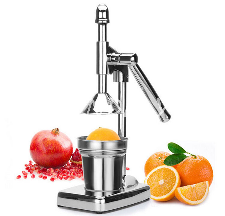 hand press squeezer orange citrus juicer fruit juice extractor stainless steel ebay. Black Bedroom Furniture Sets. Home Design Ideas