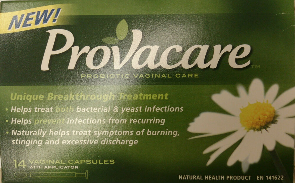 PROVACARE Probiotic Vaginal Care Capsule Applicators 14pk for Yeast Infections  | eBay