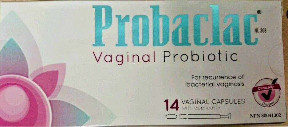 PROBACLAC Probiotic Vaginal Care Capsule Applicators 14pk for Bacteria Vaginosis | eBay
