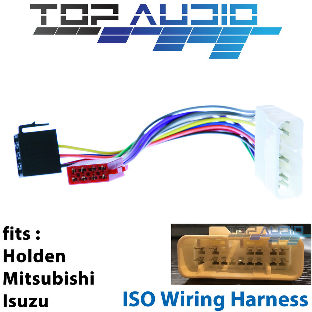 Mitsubishi Colt Iso Wiring Harness Adaptor Cable Connector Lead Loom Connectors Plug Wire Ebay