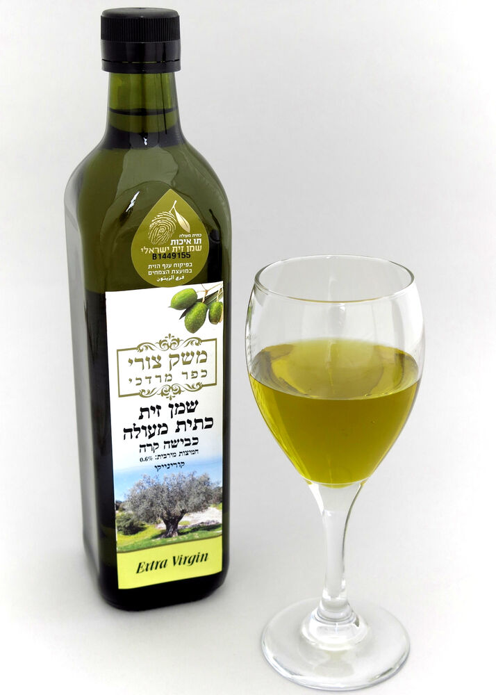 Delicate Kosher Extra Virgin Olive Oil From Israel 750 Ml