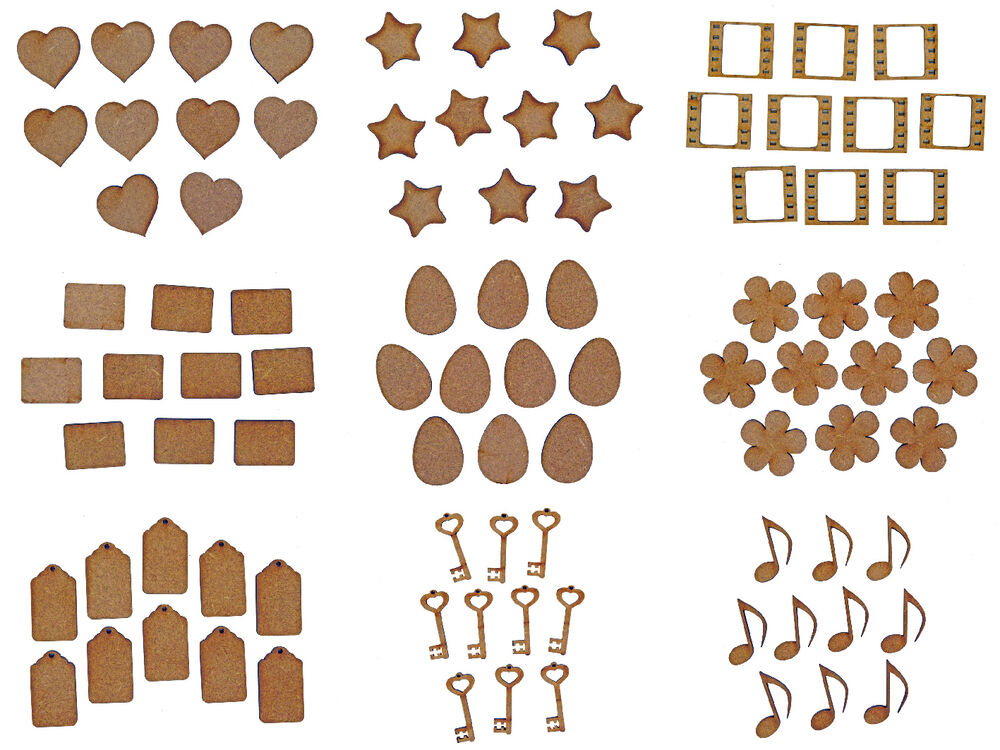 wooden craft shapes laser cut wooden mdf craft small shapes blanks 3257