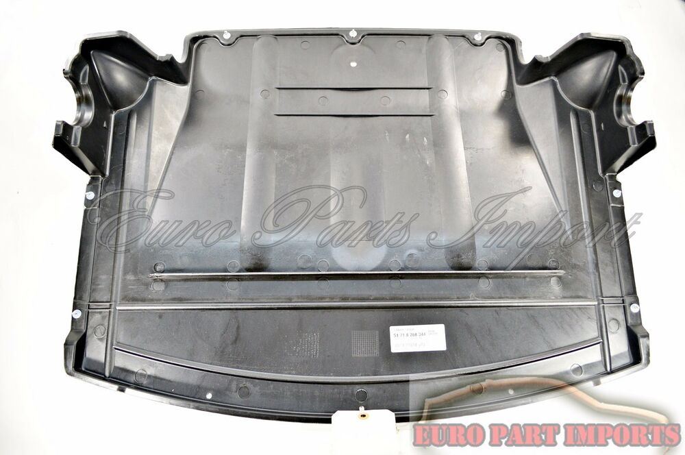 Bmw E46 Undercar Shield Center Splash Guard Engine Protection 51718268344 Ebay
