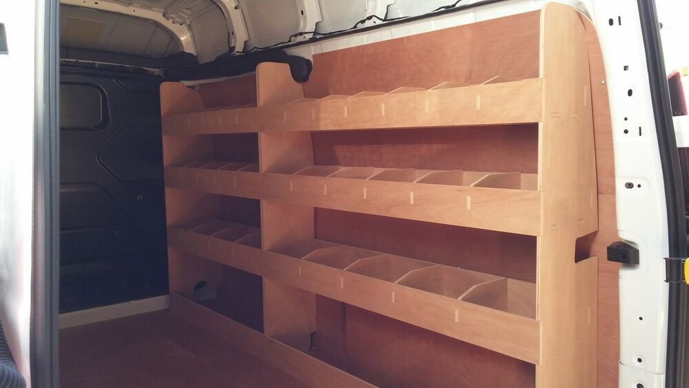 Ford Transit Custom Lwb Double Van Racking Plywood