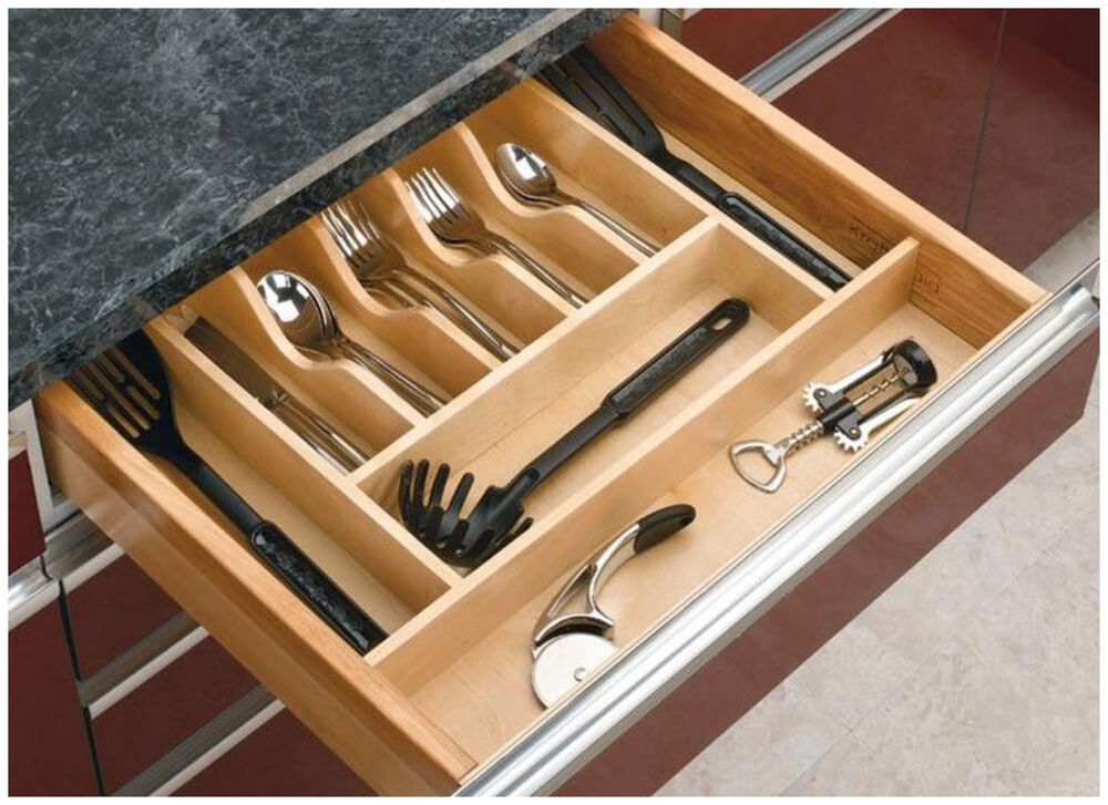 kitchen cabinet utensil organizer kitchen drawer cabinet storage organizer holder tray 19747
