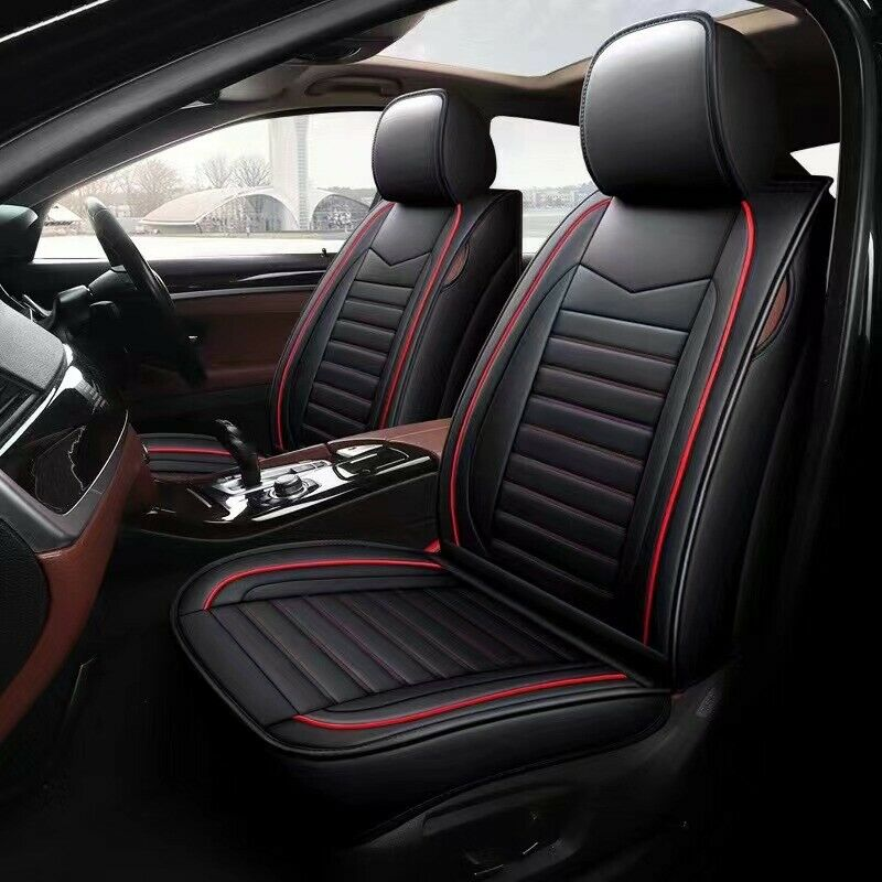 padded black car seat cover fits toyota camry corolla altise aurion rav4 hilux ebay. Black Bedroom Furniture Sets. Home Design Ideas