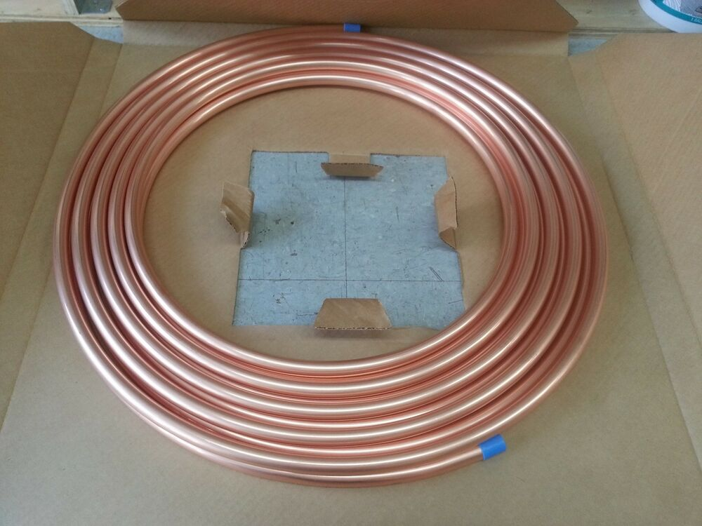 3 8 Quot 50 Foot Refrigeration Hvac Soft Copper Tubing Coil