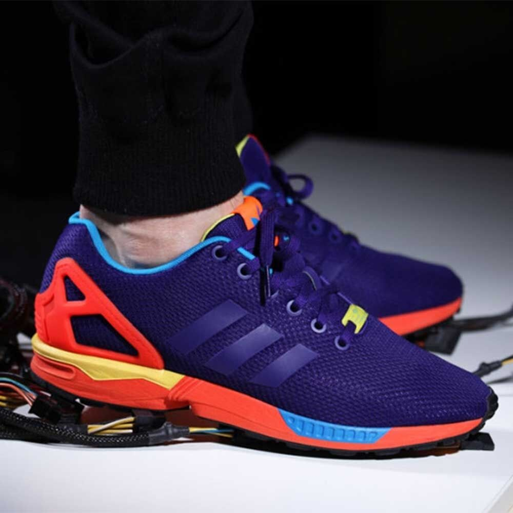 adidas originals zx flux sunrise pack mens shoes b34491 trainers ds new ebay. Black Bedroom Furniture Sets. Home Design Ideas