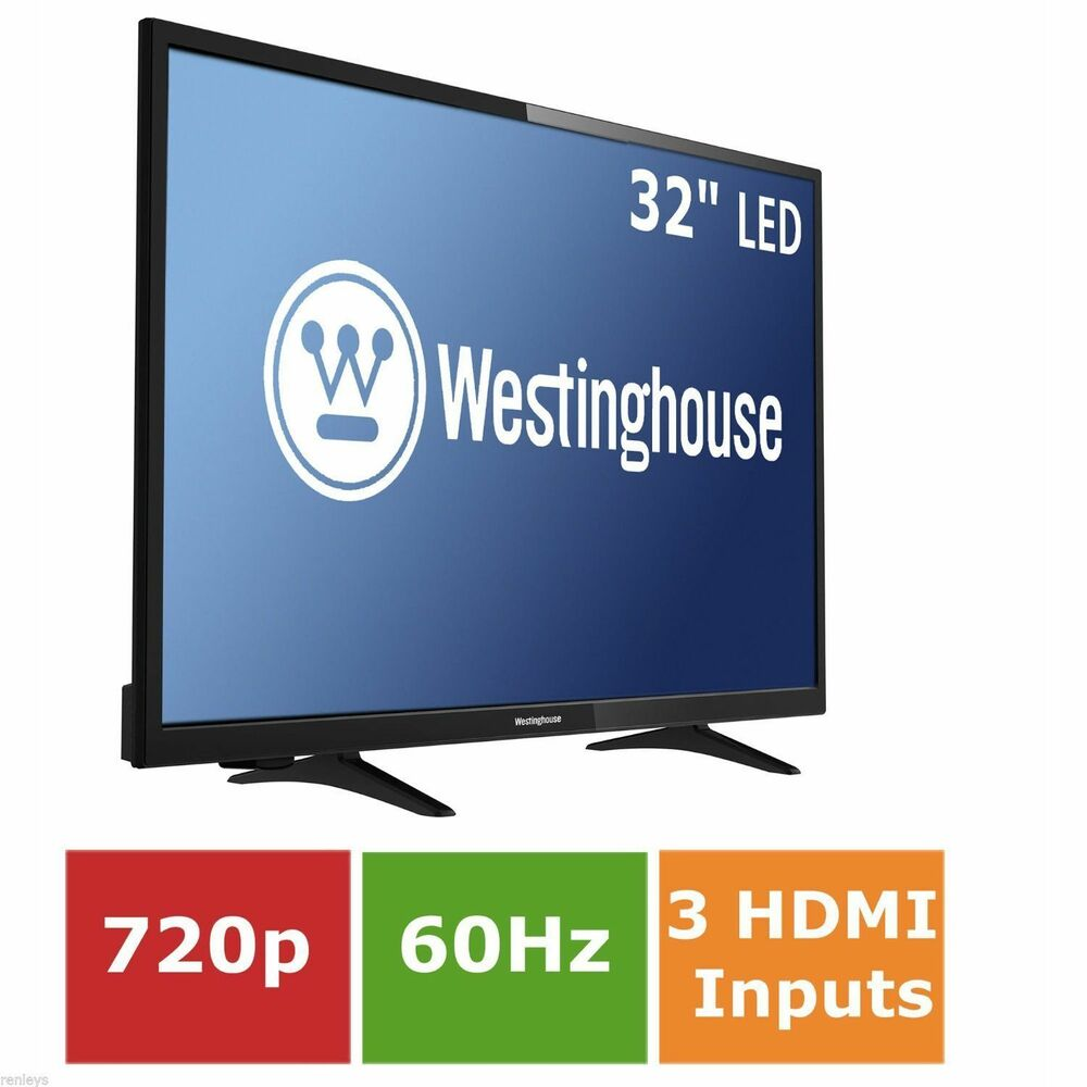 """Flat Apartment Definition: 32"""" Inch LED Flat Screen Television Wall Mountable HDTV"""