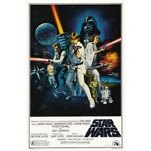Star Wars Episode IV A New Hope 8x10 11x17 16x20 24x36 27x40 Movie Poster A