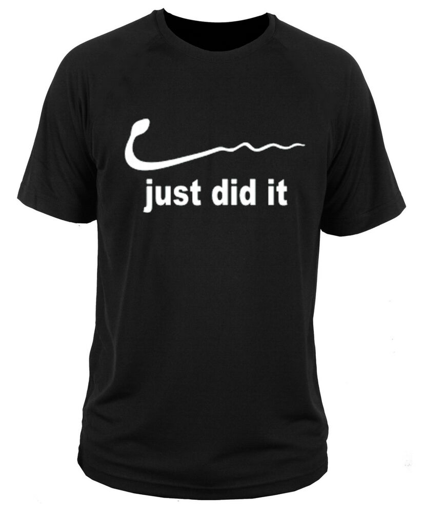 t shirt t shirt nike just did it parody gift ebay