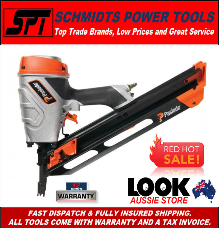 Paslode Pf 350s Power Framer Framing Nail Gun 90mm