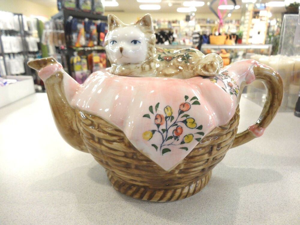 Unique Cat Teapot Andrea By Sadek Awesome Gift Or