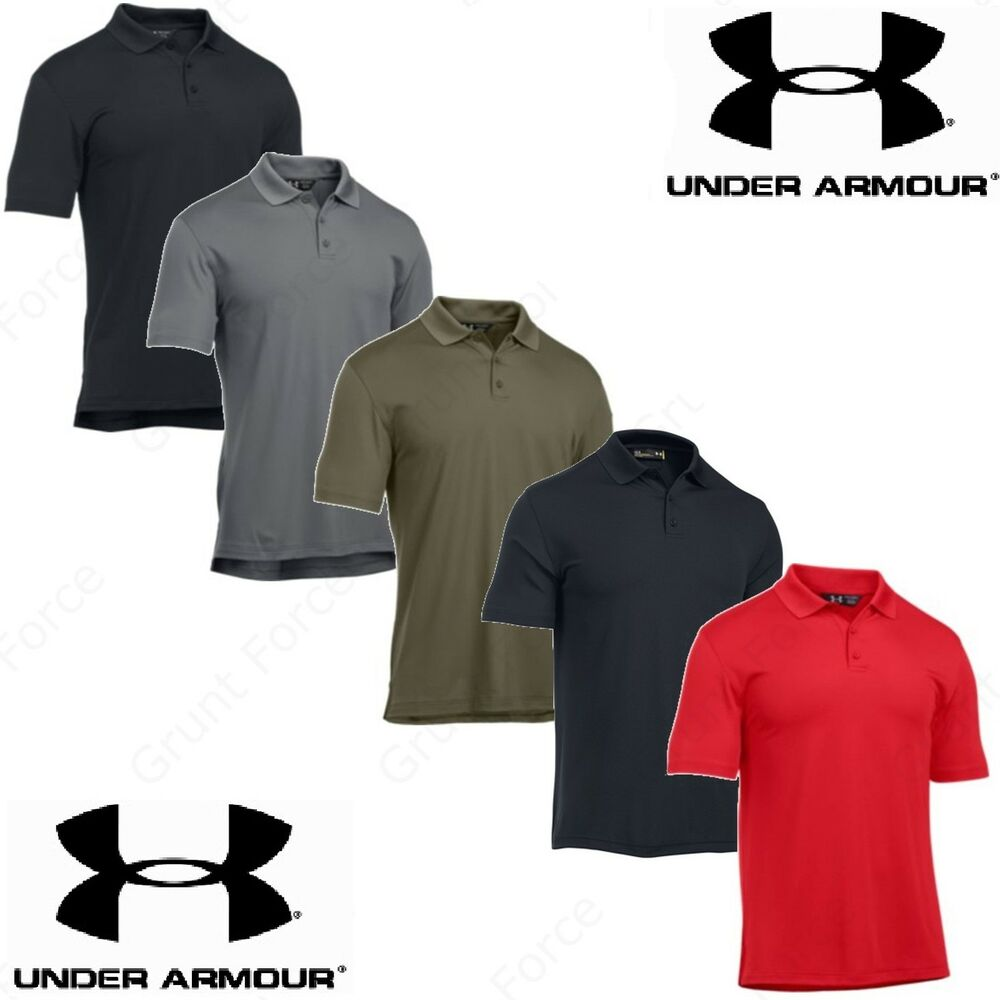 Under Armour Mens Ua Tactical Performance Short Sleeve Loose Fit