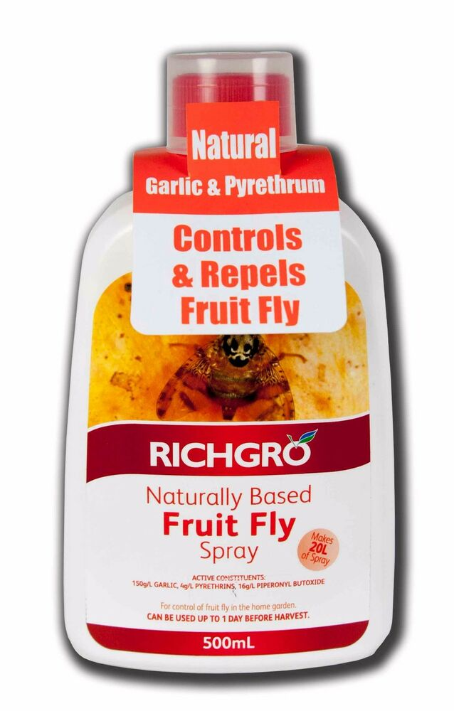 Naturally Based Fruit Fly Spray Concentrate 500mL Richgro