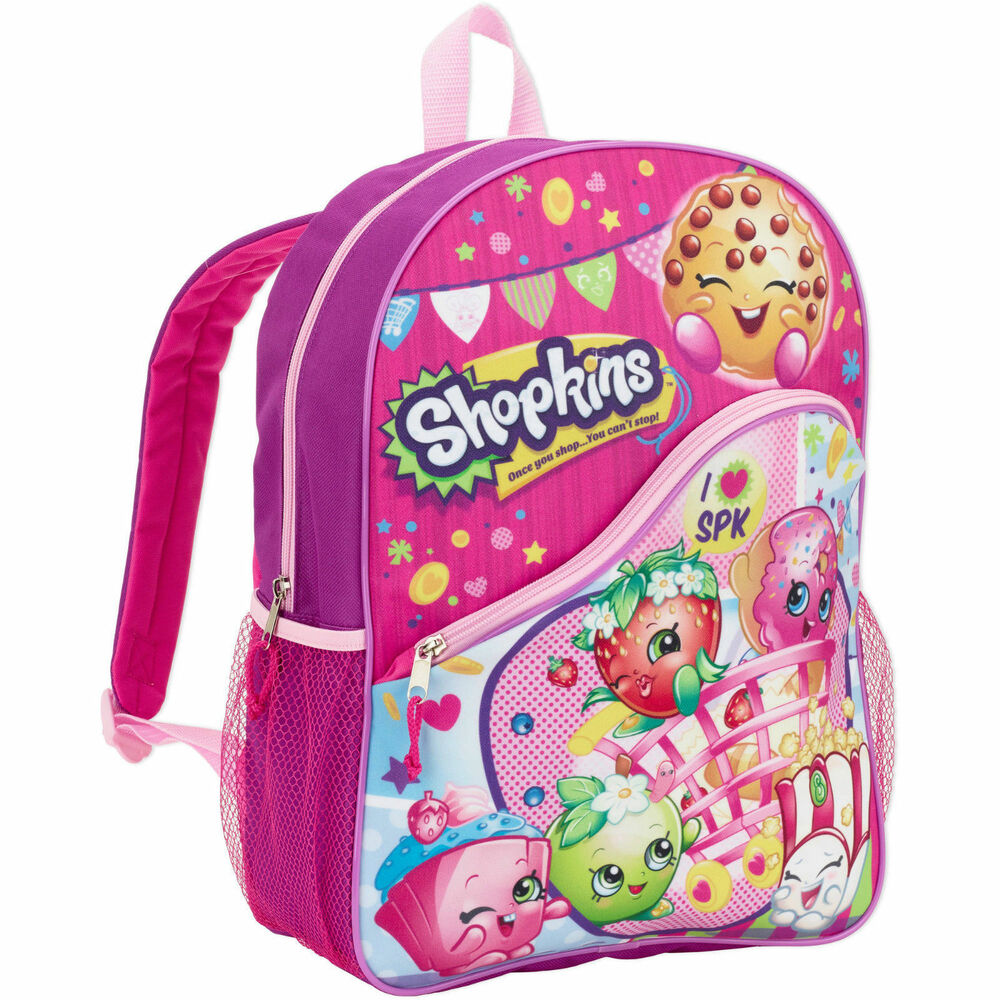 Shopkins Backpack School Book Bag School