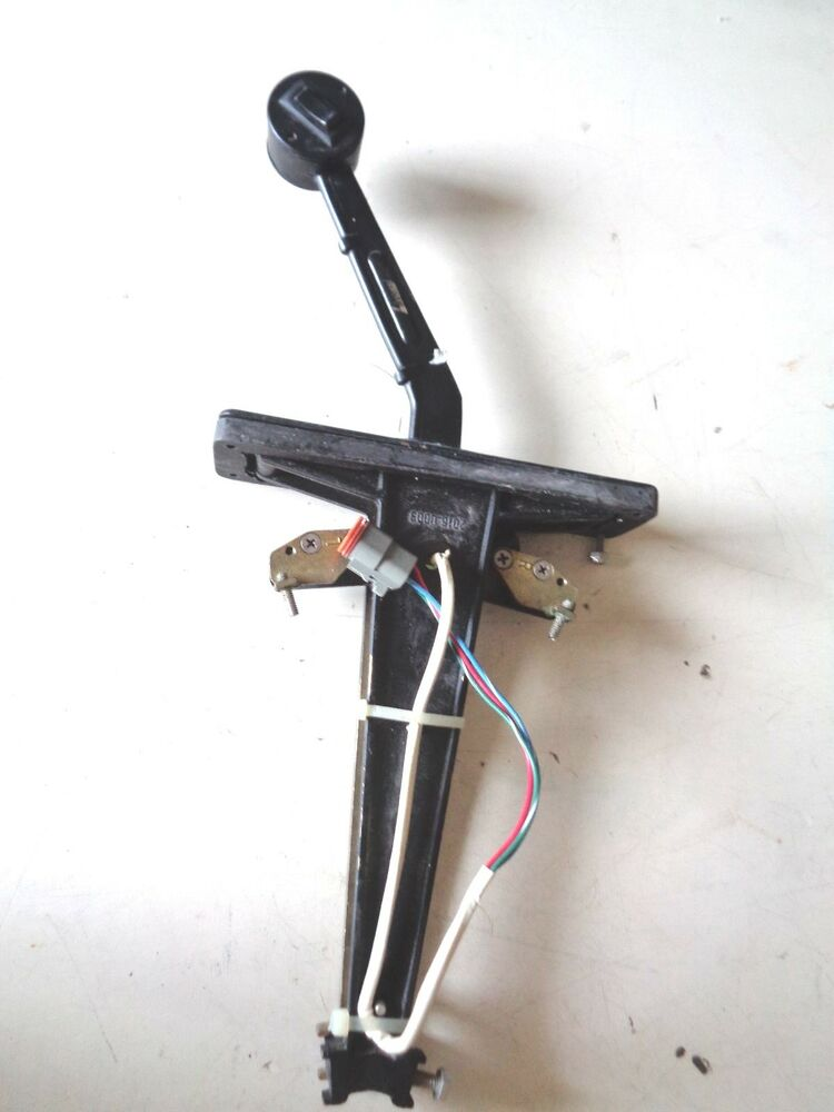 Marine Throttle Lever Control Single : Livorsi th s single boat throttle control with trim ebay