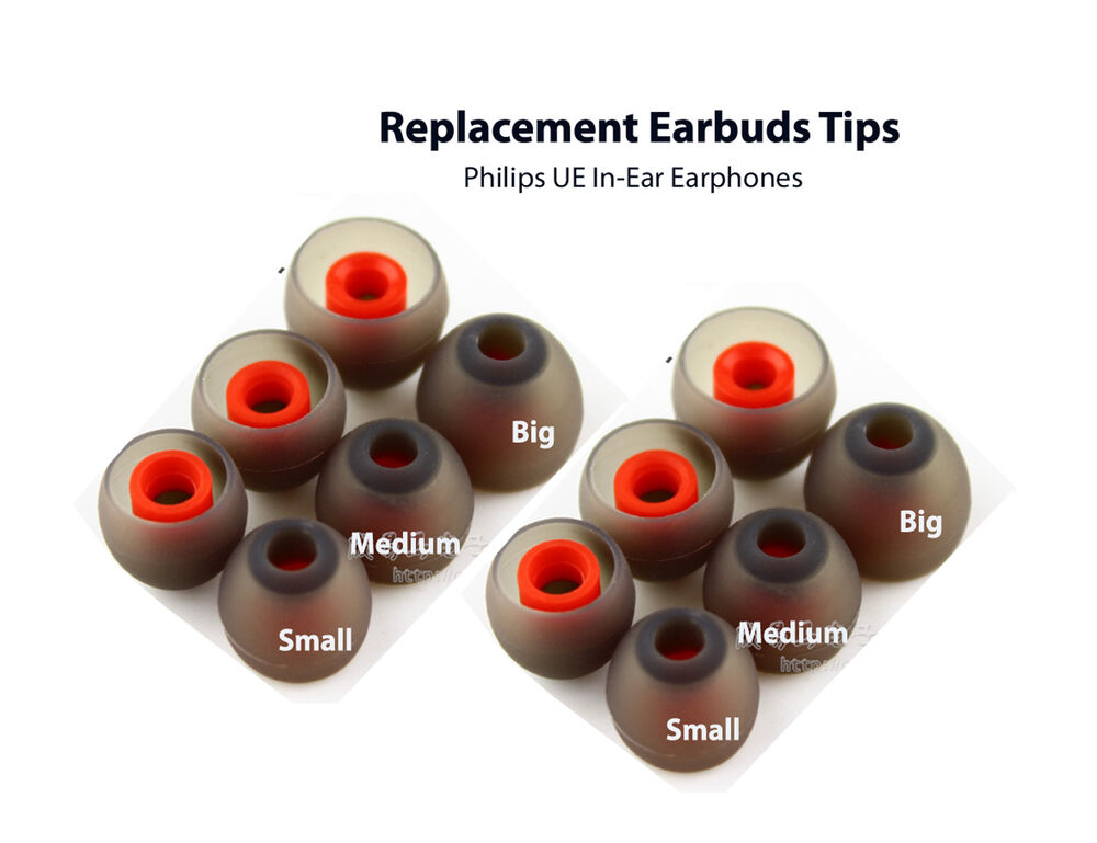 Replacement Earbuds Tips For Philips Ue In Ear Earphones