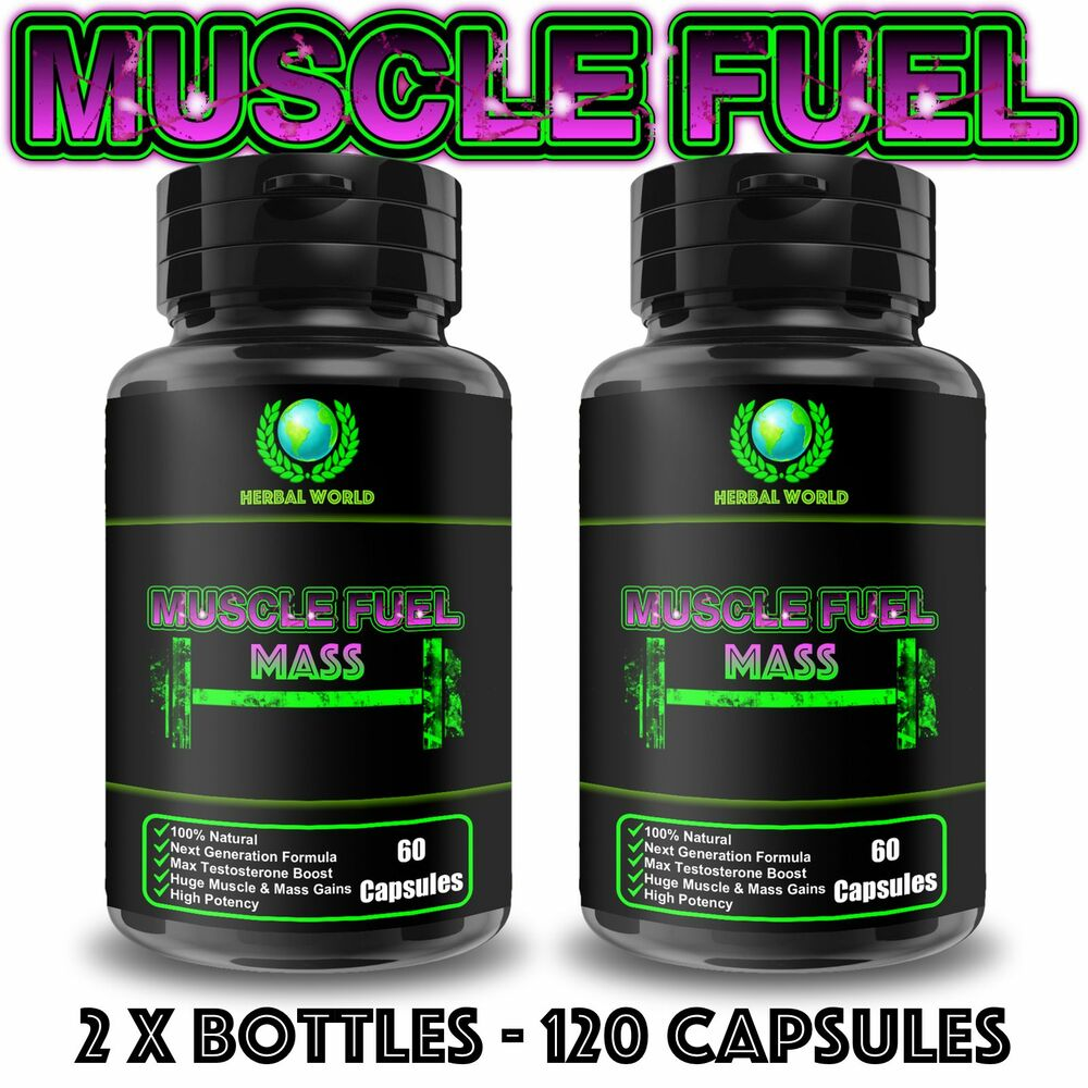 120 High Strength Capsules Muscle Growth Sex Drive