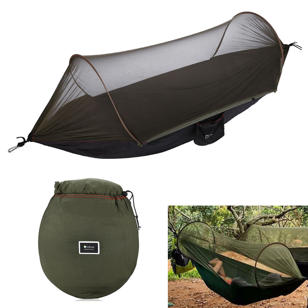 Portable Strength Camping Hammock Hanging Bed With