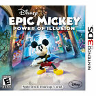 Epic Mickey: Power of Illusion (Nintendo 3DS, 2012)