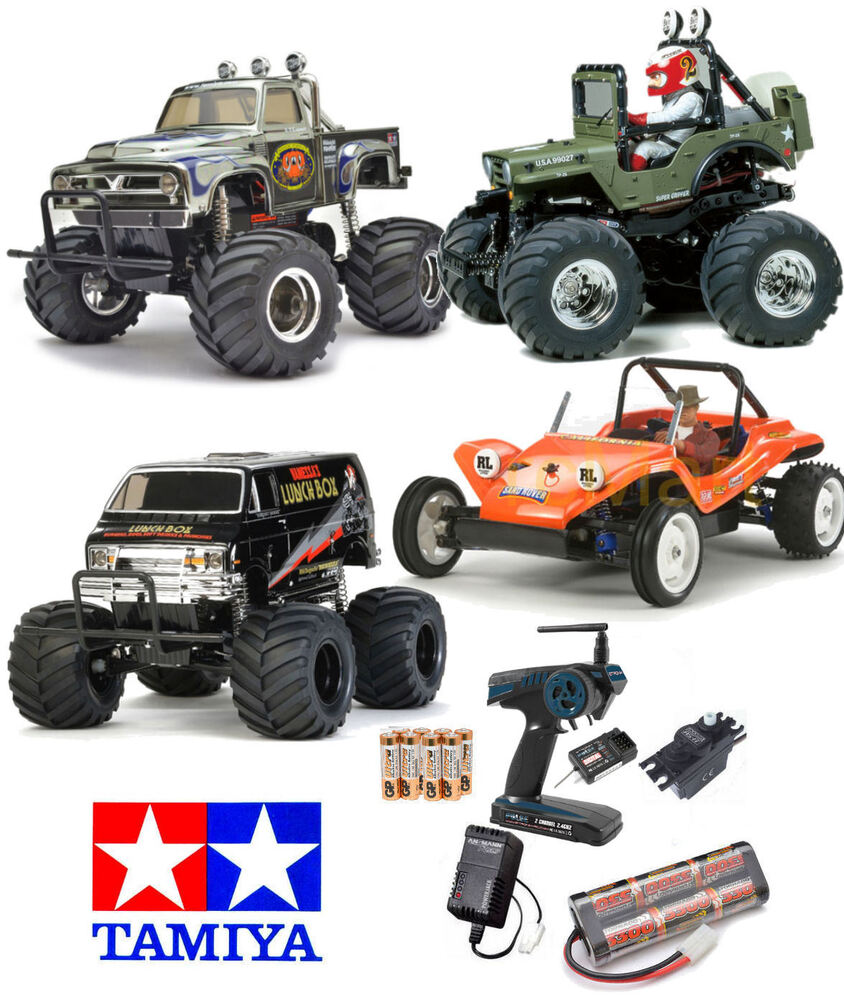 TAMIYA RC Car/Buggy RTR Bundle Deals Everything Included