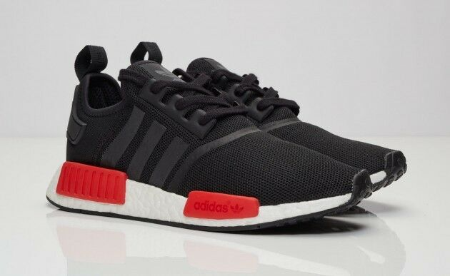 Details about ADIDAS ORIGINALS NMD   R1 RUNNER CORE BLACK WHITE RED BB1969  SIZE 8 ~ 10.5 d412fb9fa3fd